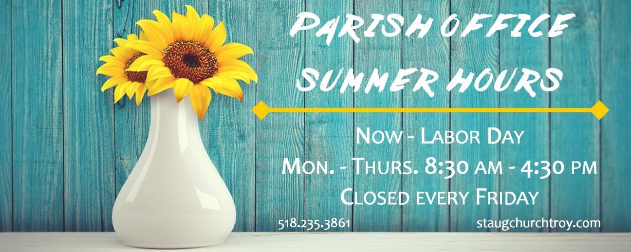 Summerhours_parishoffice